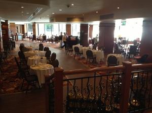 Frukostmatsalen på Grand Hotel Excelsior, Malta