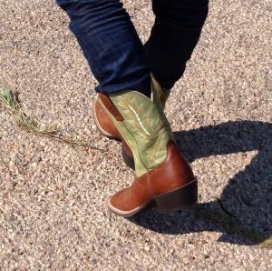 Jörgens boots, numera inridna