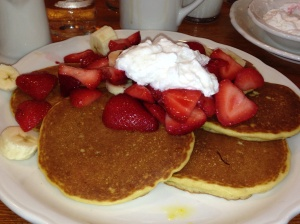 Glutenfree pancakes at The Original Pancake House