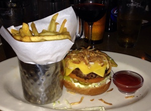 The best burger ever (at The Cheese Cake Factory)