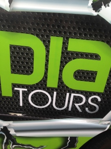 Apparently Pia has started a tour company! ;-)